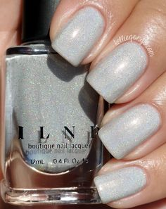 Brand: ILNP // Collection: Summer 2015 Ultra Holos // Color: Paper Route // Blog: Kellie Gonzo