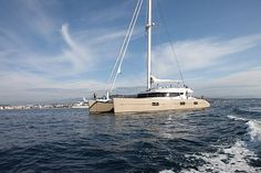 Charter catamaran Blue Coast 92, 4+8 cabins, 8 berths. Available in France.