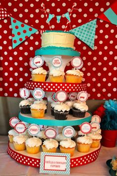 little red wagon Birthday Party Ideas | Photo 2 of 15 | Catch My Party