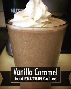 This recipe blows Starbucks out of the water!   You can use your choice of protein powder. I used Universal Nutrition Salted Caramel. INGREDIENTS 1 scoop protein powder 1/2 cup milk (I used cashew …