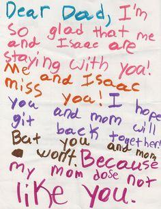honest-notes-from-children-6 Kids are so honest!!! LOL!