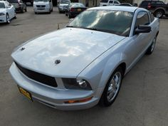 2005 #Ford #Mustang V6 Coupe with Custom Wheels - Only $6,990! -- http://www.cashcarstore.com/classifieds/category/212/Cars/listings/16363/2005-Ford-Mustang.html  #fordmustang #ponycar #firstcar