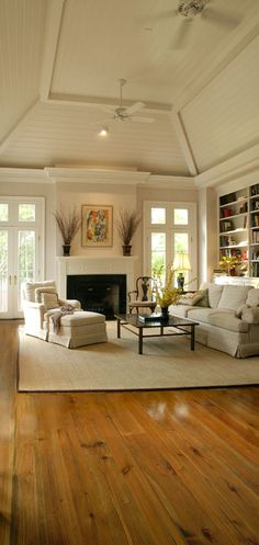 Bright, open, airy. Another ceiling option