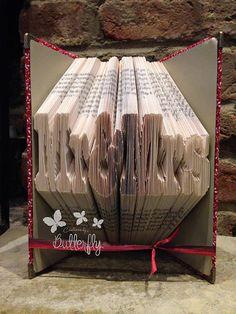 Book Folding Pattern 'Mr&Mrs' 322 Folds by Patternsbyabutterfly