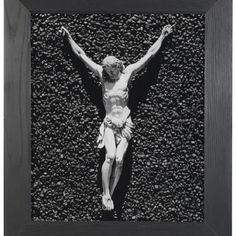 Christ, a black and white photograph by Robert Mapplethorpe is one of the images sold at Bonhams photography auction