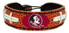 Florida State Seminoles Classic Gamewear Football Bracelet