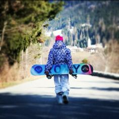 Love roxy snowboard