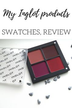 My new Inglot makeup products. Review, swatches and more. This article contains eyeshadow, a lipstick and powder. Beautiful products <3. Click to learn more about these products.