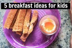 Struggling for kid breakfast ideas? I got you covered. Here's five to choose from // The Veggie Mama