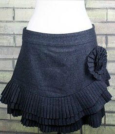 Trois Femmes Boutique  - Don't Get It Twisted Pleated Skirt, $39.00 (http://www.troisfemmesboutique.com/dont-get-it-twisted-pleated-skirt/)