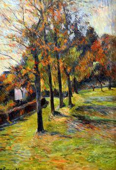 Paul Gauguin - fugas en la naturaleza