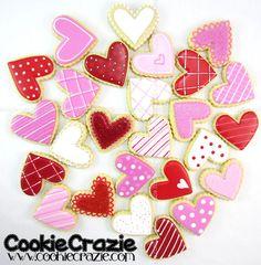 Cookie Crazie Valentine set