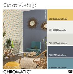 This vintage atmosphere is perfect for tea, to exchange tea and coffee. Interior House Colors, Interior Design, Laundry Room Inspiration, Small Kitchen Organization, Modern House Plans, Living Room Grey, Room Colors, Sweet Home, House Design