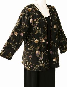 SHOP NOW: Unique jackets for women Sizes 14 - 36, mother of the bride, special occasion, artwear, elegant and unique women's clothing,xoPeg #PeggyLutzPlus #PlusSize #plussizestyle #plussizefashion  #womenstyle #womanstyle #womanfashion #holidaystyle #springlstyle #springlfashion #plusbridal #motherofbride #motherofgroom #wedding  #fabricdesign #fabriclovers #formalcoat #style #divastyle #couture  #couturefabric  #fabriccollage #Chanel #fashion