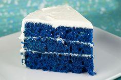 Bolo Blue Velvet (Veludo Azul)