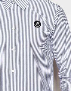 WOOD WOOD - Blue Desmond Shirt for Men - Lyst de1afe5647fe