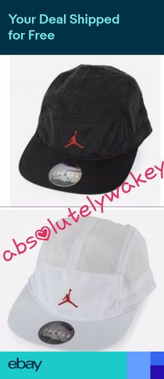 464f02b8e0e ... nike air jordan aw84 jumpman hat cap 5 panel crinkled toggle adjustable