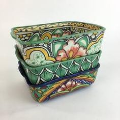 Mexican Ceramics for Curbside Pick-Up OR Hold-At-The-Store Mexican Kitchens, Mexican Cooking, Mexican Ceramics, Mexico Style, Talavera Pottery, Creative Skills, Mexican Folk Art, Zinnias, Dish