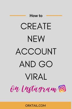 How to- create a new account and go viral Social Media Marketing Business, Digital Marketing Strategy, Instagram Marketing Tips, Instagram Tips, New Start Quotes, Social Media Engagement, Marketing Techniques, Writing Services, Prime Time
