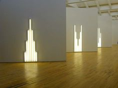 "Dan Flavin ""Monuments for V. Tatlin""  1964-1981 Dan was a regular contributor to ICA shows in Philadelphia from the late sixties into the eighties. (perhaps still is)."
