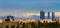 La Sierra desde Moratalaz