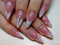 Nails gel, we adopt or not? - My Nails Acrylic Nail Designs, Nail Art Designs, Acrylic Nails, Beautiful Nail Art, Gorgeous Nails, Cute Nails, Pretty Nails, Maquillage On Fleek, Chevron Nails