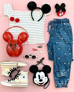 Cute Disney Outfits, Disney World Outfits, Disney Themed Outfits, Disneyland Outfits, Outfits For Teens, Pretty Outfits, Cute Outfits, Viaje A Disney World, Diy Clothes Tops