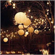 backyard lighting ideas for a party