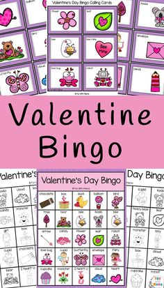 Valentine's Day Bingo - Fun with Mama