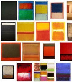 mark rothko orange red orange - Google Search