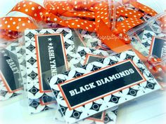 Personalized Customized CHEER Spirit Squad Bag Tag by Chocolatetulipdesign on Etsy, $8.00