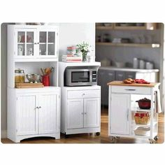 Microwave Carts Or Kitchen Island