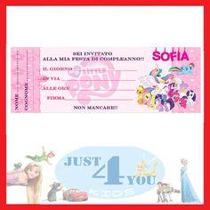 Inviti festa MY LITTLE PONY, novità - 30 pezzi - compleanno personalizzabile in Casa, arredamento e bricolage, Feste e occasioni speciali, Feste e party | eBay