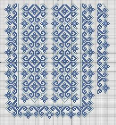 Beading _ Pattern - Motif / Earrings / Band ___ Square Sttich or Bead Loomwork ___ Gallery. Cross Stitch Borders, Cross Stitch Designs, Cross Stitching, Cross Stitch Embroidery, Hand Embroidery, Needlepoint Patterns, Loom Patterns, Embroidery Patterns, Cross Stitch Patterns