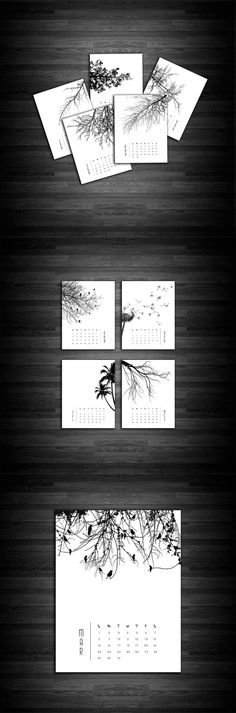 Need a new calendar for the new year? Printables