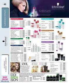 Schwarzkopf Professional Hairdressing Products -BC Bonacure -Oil Miracle -[3D]Mension