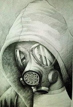 Mask Gas por Shiralee - Retratos | Dibujando.net