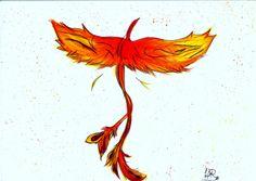 Fenix #aquarela #tattoo #drawing