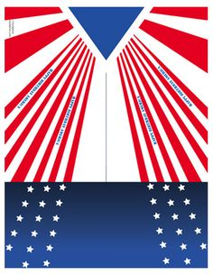 FREE Printable U.S.A. Paper Airplane (Printable 4th of July Activity for Kids) for a paper-airplane throwing contest!