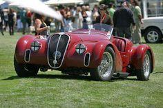 1939, Alfa Romeo 6C 2500 SS Spider Corsa