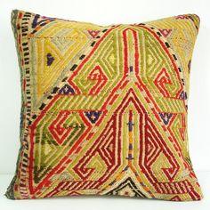 Turkish Antique Killim Pillow Cover