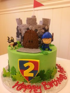 Mike the Knight birthday cake.