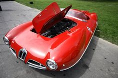 1952 Alfa Romeo 1900 C 52 Disco Volante Maintenance/restoration of old/vintage vehicles: the material for new cogs/casters/gears/pads could be cast polyamide which I (Cast polyamide) can produce. My contact: tatjana.alic@windowslive.com