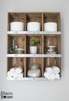 Gallery For Photographers Bathroom Makeover Reveal Home ImprovementsRustic Bathroom MakeoverBathroom Shelf DecorWall