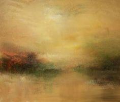 """""""Golden Mist"""" oil on canvas  24""""x30"""""""