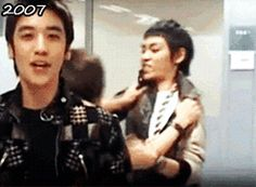 choi-top-hyung:   Watching GTOP play around aggressively..[gif set]