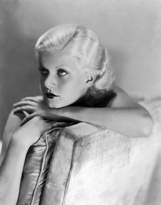 #glamour Jean Harlow, so glamourous!