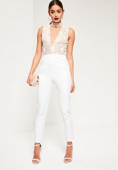 58f51c90222b Get all choked up on pretty jumpsuits for the new season and splurge on  this beaut - featuring a choker neck