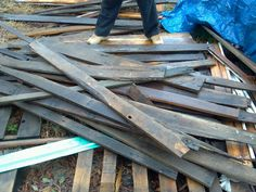 Miscellaneous pieces of reclaimed lumber material from houses, barns, fences and other structures we have disassembled. Selling by the pallet for $100! Cheapest way to get great materials for that DIY project you've been putting off all winter! 501-548-7764