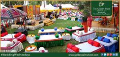 Include both indoor and outdoor spaces, Golden Palms Hotel & Spa, Bengaluru, offers a spectacular location for your wedding vows. Visit www.goldenpalmshotel.com for more details. #WeddingWednesdays
